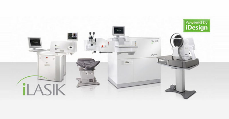 iLasik surgery equipment for cataract and presbyopia powered by iDesign