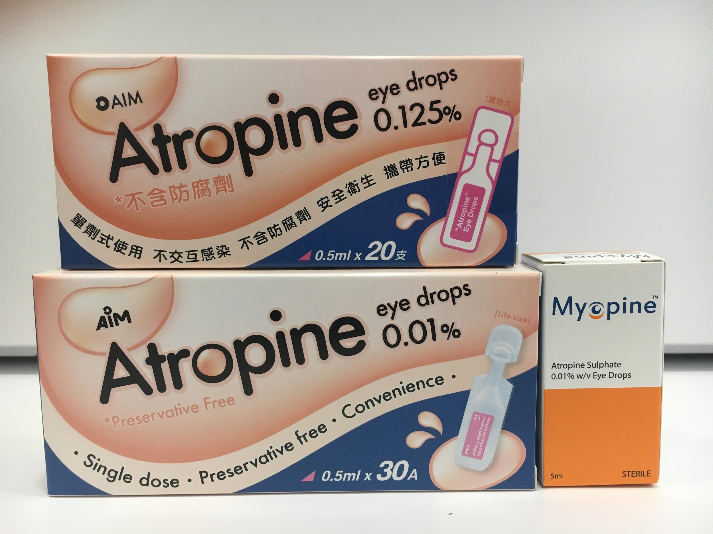 Atropine and Myopine