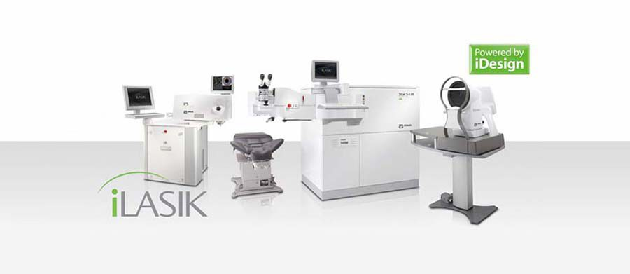 iLasik cataract surgery equipment