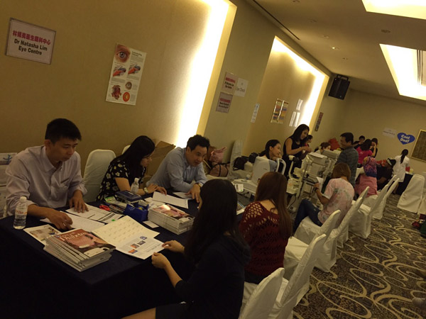 Event of NTUC eye screening 2015