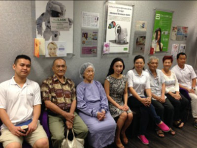 Visitor of Dr Natasha Lim Eye Centre